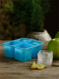 Blue Ice Shot Glass Mould - Master Kitchen
