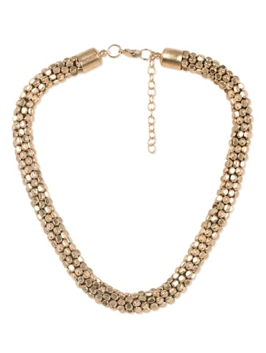 Golden Beads Necklace - 1000372 - Standard Image - 1