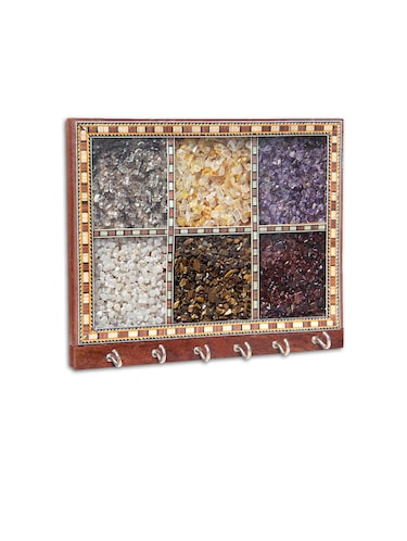 Handicrafts Paradise gemstone key holder PSSW 14003 - 10072662 - Standard Image - 1
