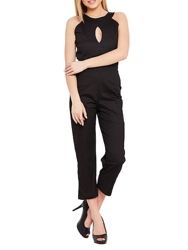 529d2b65938 Buy Black Cotton Lycra Jumpsuit for Women from Liebemode for ₹3899 ...