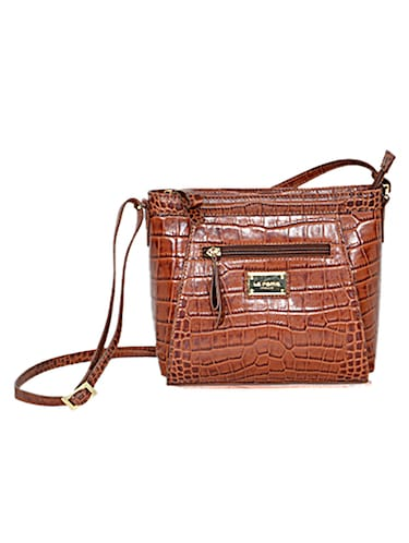 brown leather sling bag - 10707867 - Standard Image - 1