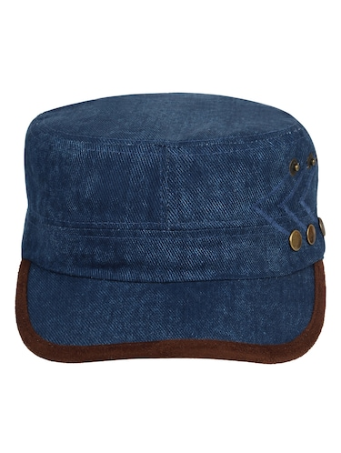 edbcfe52041 Buy Blue Denim Cap by Eccellente - Online shopping for Caps in India ...
