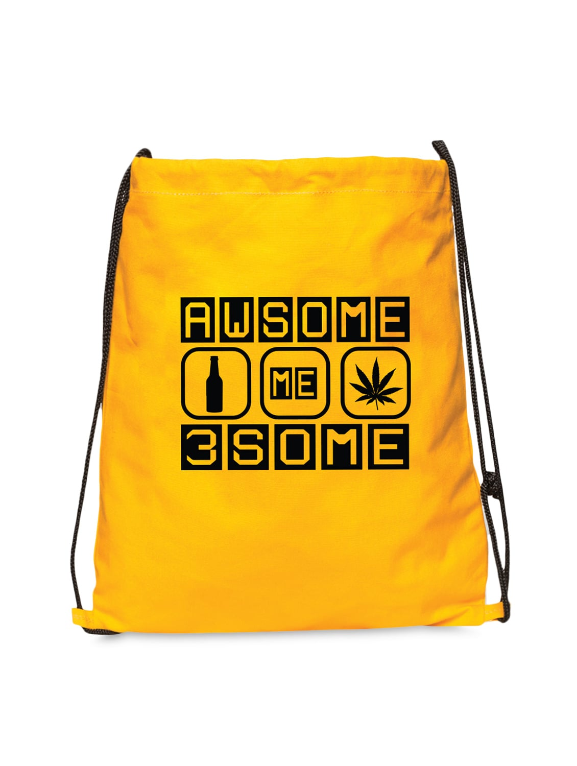 Buy Yellow Canvas Backpack for Men from Campus Sutra for