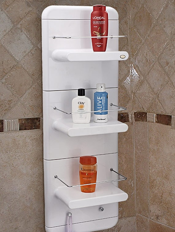 Buy White Abs Plastic Bathmate Corner Unit For Unisex From