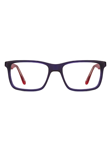 26222f1149 Buy White Plastic Rectangle Men Spectacle Frame by Vincent Chase ...