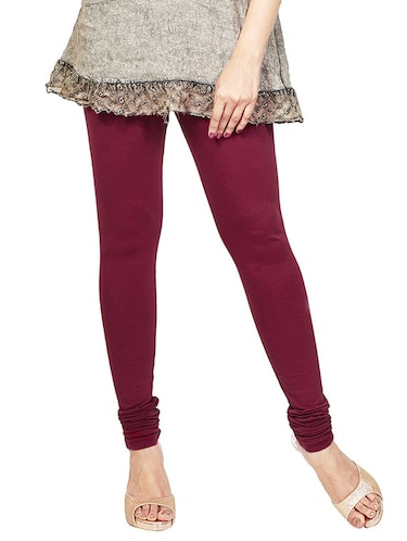 pink color, cotton legging - 11478621 - Standard Image - 1