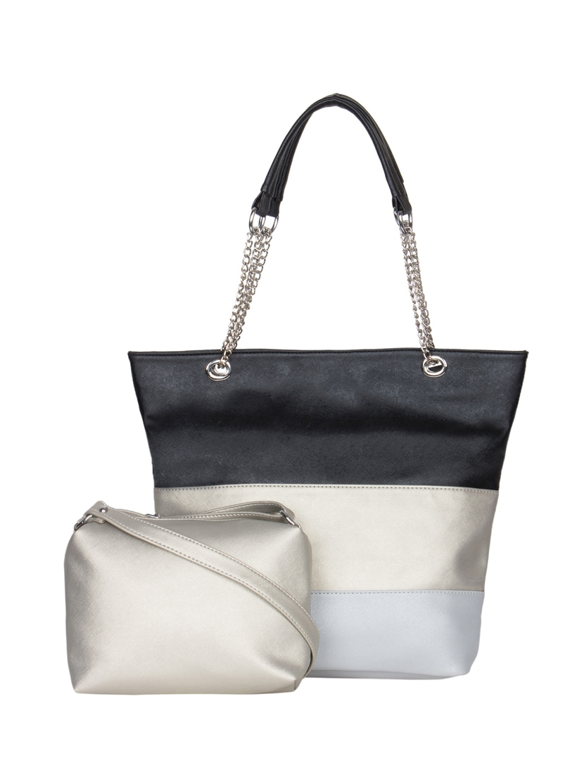 Multi Coloured Leatherette Handbag And Pouch Combo By Adisa Online Ping For Handbags In India 11536151