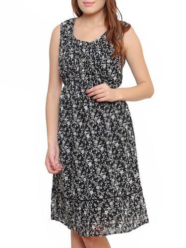 c9cfed673d Buy Black Empire Line Dress by Malvin - Online shopping for Dresses ...