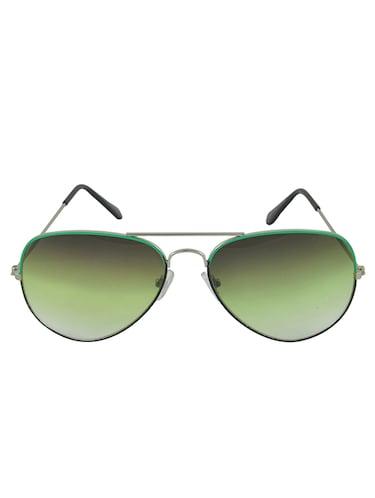 96fdc57f7 Green Full Framed Aviator Sunglasses