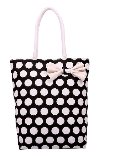 603f47f523da Buy Multi Polka Dots Canvas Tote by Anges Bags - Online shopping for ...