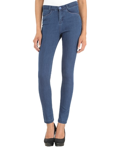 2675ee1a9963e Buy Xpose Light Blue High Rise Jeans for Women from Xpose for ₹899 ...