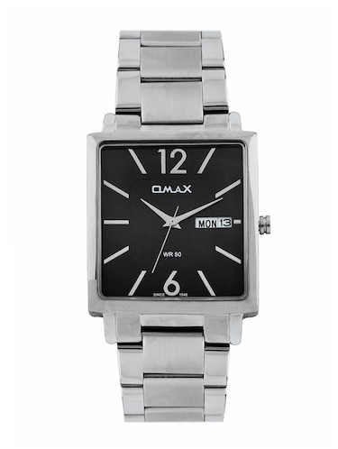 Omax Black Dial Men's Watch - SS389 - 12341558 - Standard Image - 1