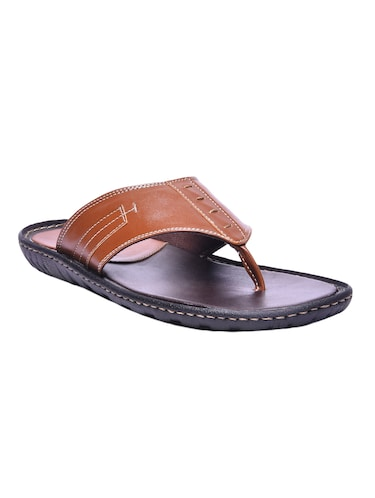 55314872d7b716 Buy Tan Tpr Slippers for Men from Andrew Scott for ₹926 at 42% off ...