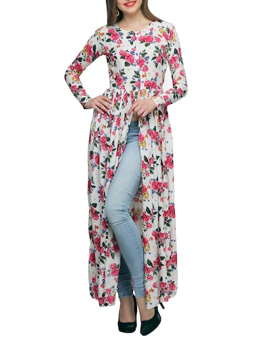 6e39bbbe97c2d Buy White Cotton Maxi Tunic for Women from Scorpius for ₹951 at 55% off