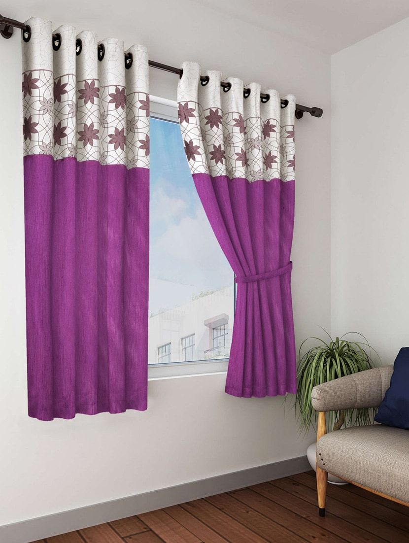 traditional window treatments bay bianca purple traditional window curtain 12508177 zoom image buy purple traditional window curtain by online