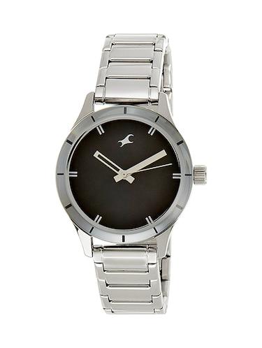 Fastrack Monochrome Analog Black Dial Men's Watch   6078SM06