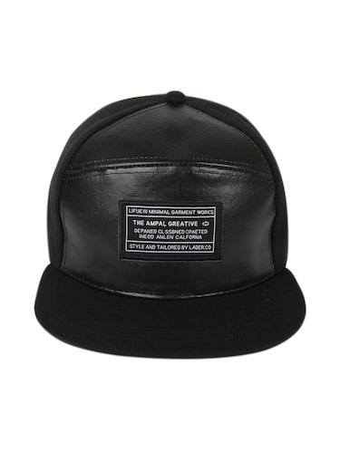 b77b1a8d634 Buy Ilu Hiphop Snapback Leather Caps Black Men Women Caps Hats for ...
