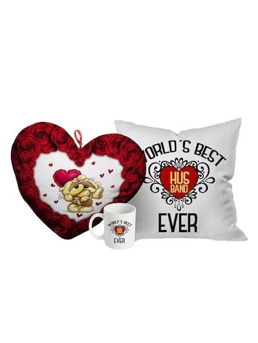 Buy Stybuzz Valentines Day Best Husband Gift Combo Heart Mug And