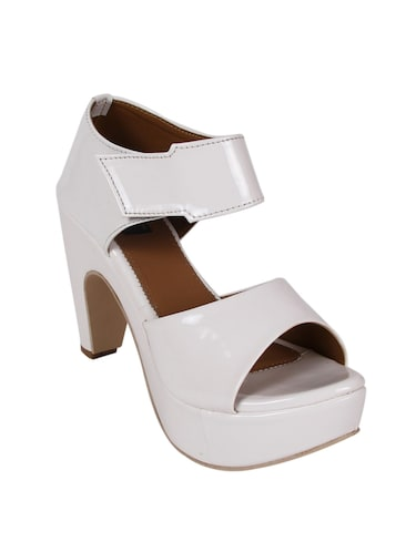 28ce2dce0b8d Buy White Ankle Strap Sandal for Women from Aroom for ₹1499 at 0 ...