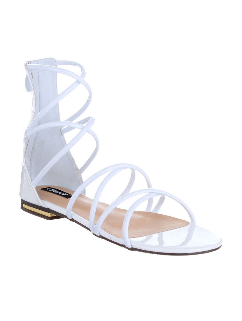 2650758ea99 Buy White Gladiators Sandal for Women from Sherrif Shoes for ₹1042 ...