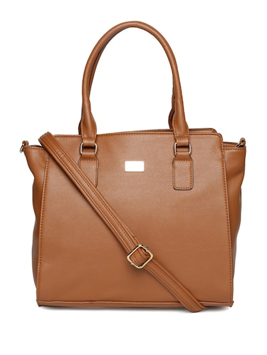 1884bb4eecc0 Buy Brown Leatherette Handbag by Allen Solly - Online shopping for ...