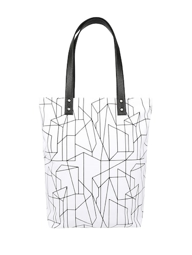 98c0dabe793e Buy White Canvas Tote by Anges Bags - Online shopping for Totes in ...