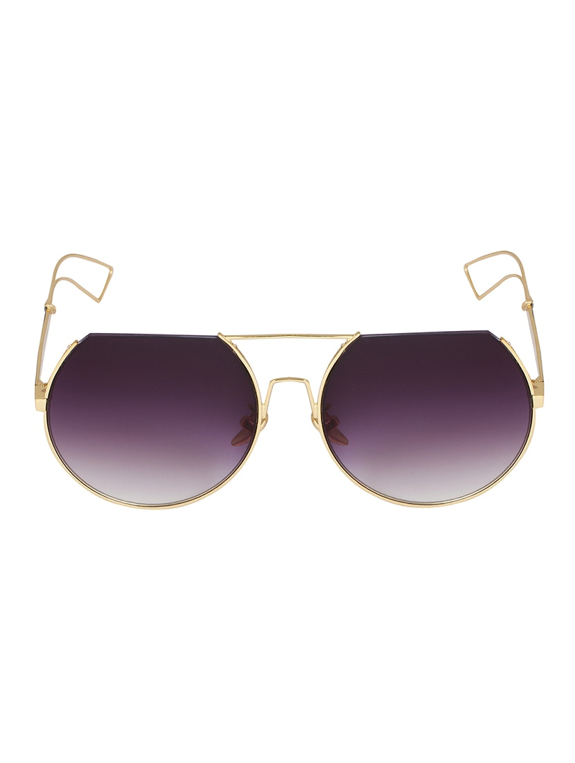 6bc501ee99 Notjustiaras Semi Rimless Unisex Sun Glasses Ombre UV Protected Lenses - ( Ombre Demi)
