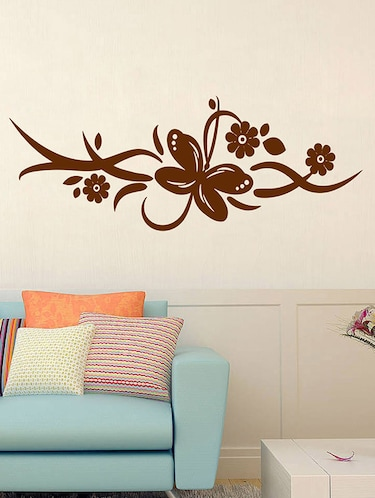 Wall Sticker Latest Flower Surface Covering Area 66 X 23 Inch