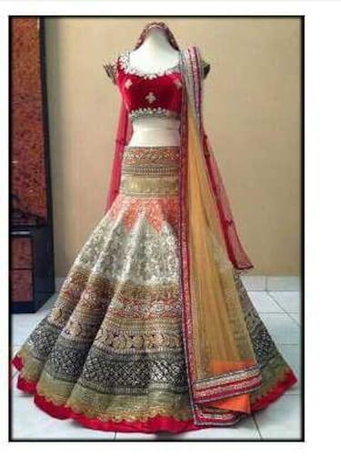 Indian wedding party wear latest lehenga Choli