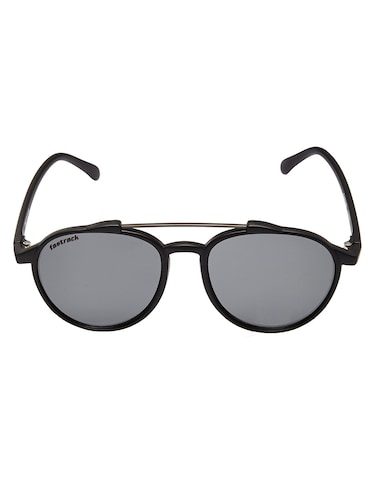 83bf3813e2 FASTRACK GUYS PLASTIC AND METAL 100 PERCENT UV PROTECTED BLACK EDGY  SUNGLASSES - C067BK1