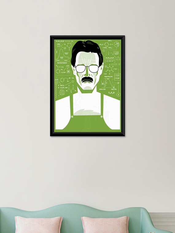 Buy Breaking Bad Wall Poster (with Frame) by Unique Indian Crafts ...
