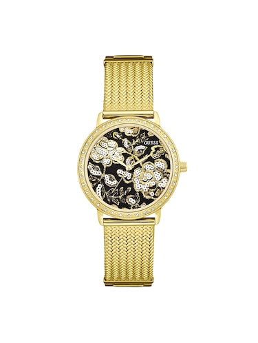 Guess Black Dial Analog Watch For Women W0822l2