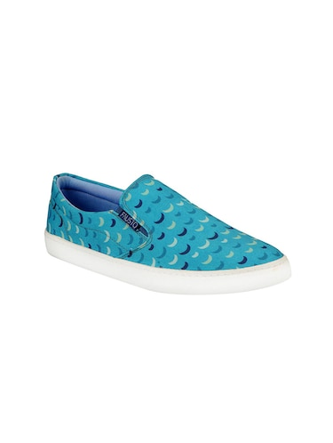 blue Canvas casual slipon - 13817317 - Standard Image - 1