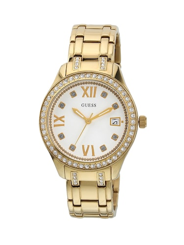 GUESS Silver Dial Analog Watch For Women - W0848L2 - 13844596 - Standard Image - 1