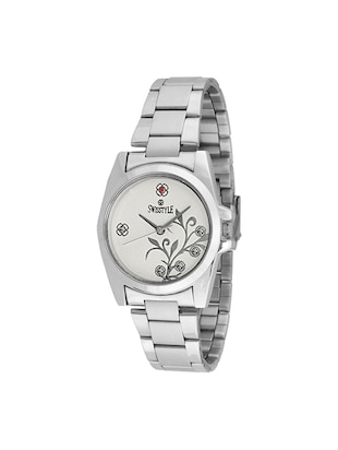 Swisstyle stainless steel Ladies Anolog Watch - 13946727 - Standard Image - 1