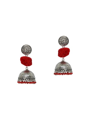 23aee0e2ab30 Buy Red Metal Drop Earrings for Women from Le Marrow for ₹437 at 65 ...