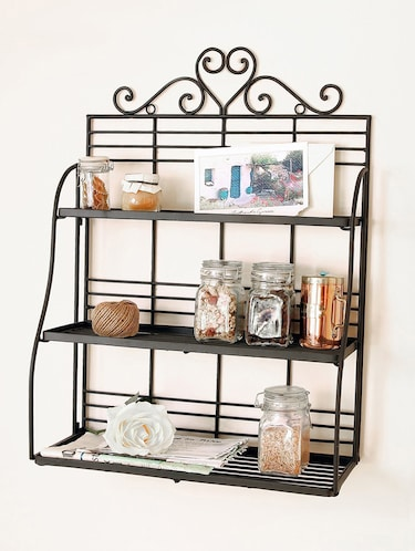 Metal Kitchen Rack By Home Sparkle