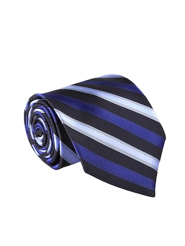 blue polyester tie - 14155467 - Standard Image - 1