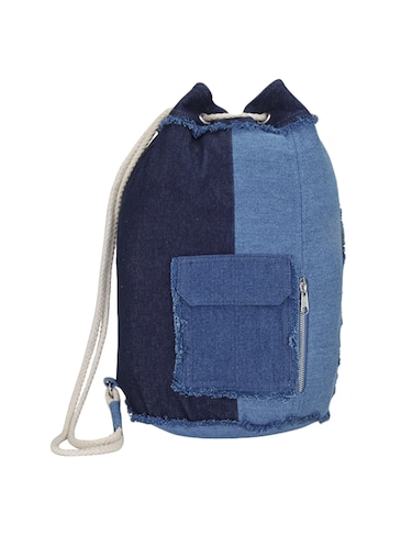 fc0bd6ce58 Buy Blue Canvas Fashion Backpack for Women from London Rag for ...