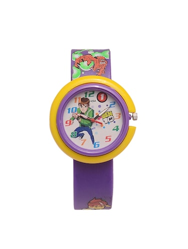 purple ben 10 watch - 14249034 - Standard Image - 1