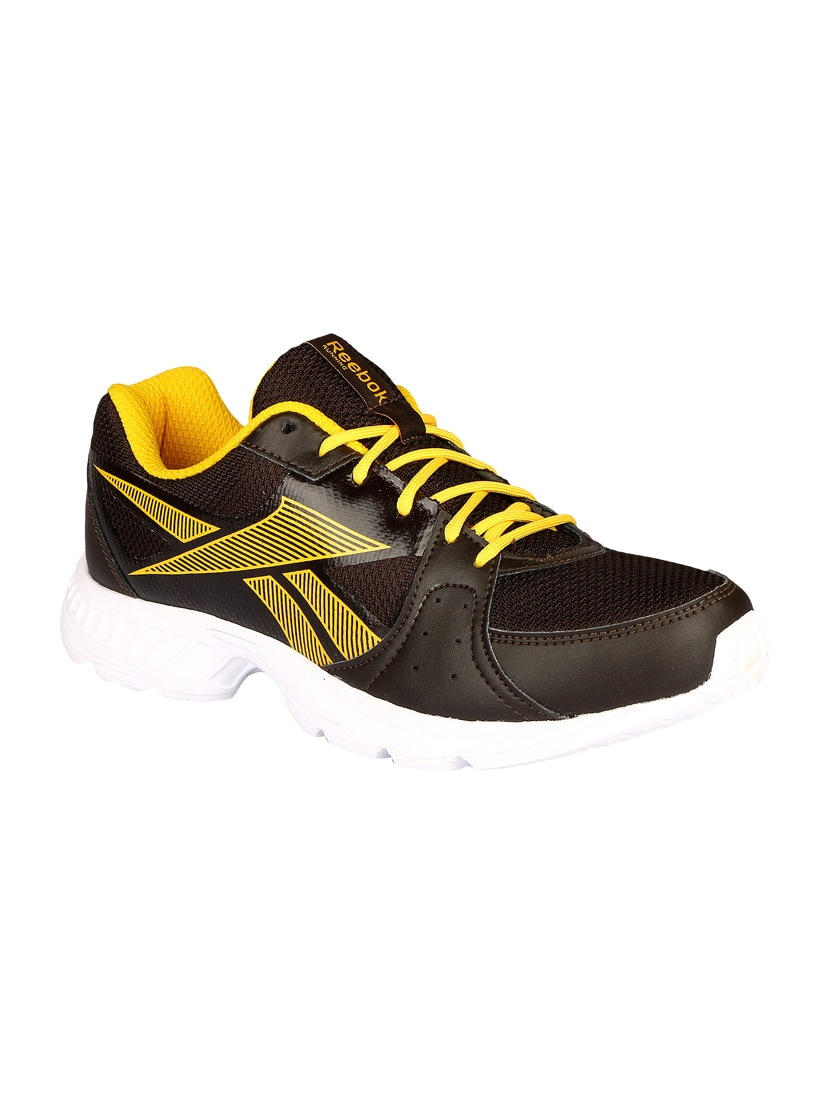 f695f81dd13456 Buy Black Mesh Lace Up Sport Shoe by Reebok - Online shopping for ...