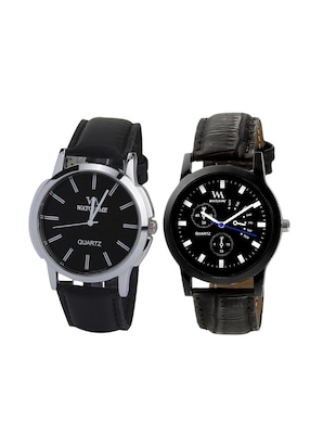 Watch Me Set of round dial Watches - 14393443 - Standard Image - 1