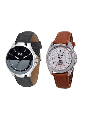Watch Me Gift Combo Set of Analog Watches for Men and Boys AWC-005-AWC-009 - 14393734 - Standard Image - 1