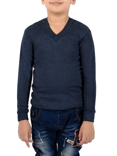 blue cotton thermal - 14412107 - Standard Image - 1