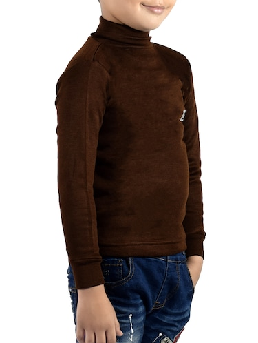 brown cotton thermal - 14412112 - Standard Image - 1