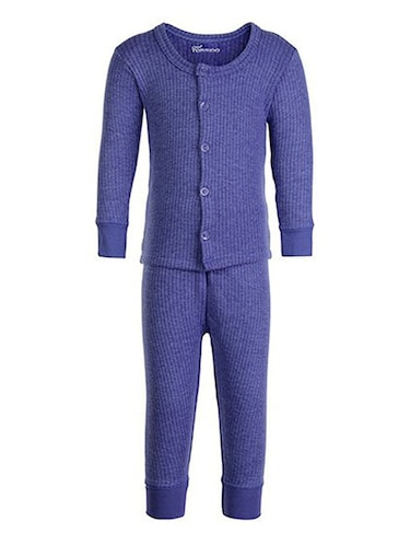 blue cotton thermal - 14412127 - Standard Image - 1