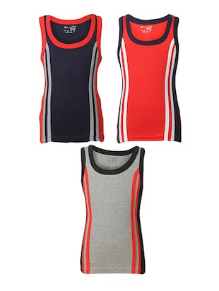multi cotton vest - 14412388 - Standard Image - 1