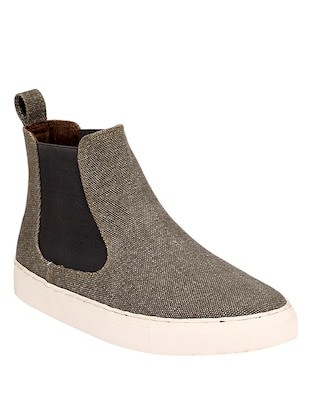 grey Canvas slip on sneaker - 14418074 - Standard Image - 1