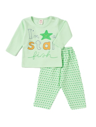 green cotton twin sets - 14419918 - Standard Image - 1