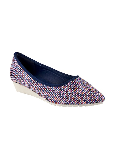 mutli colored  slip on ballerina - 14422390 - Standard Image - 1